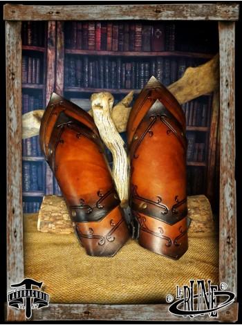 Leather bracers Senua Klarel