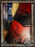 Leather bracers Senua Klarel