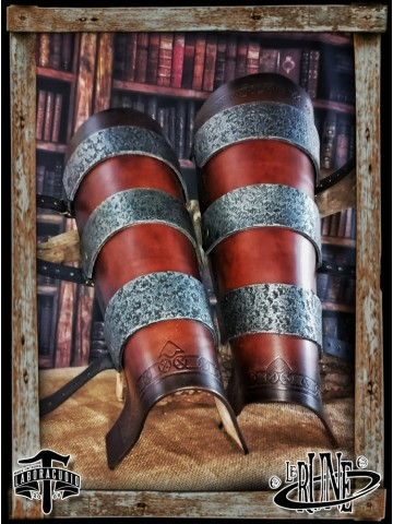 Leather greaves Ragnall