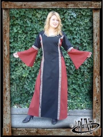 Dress Angie - Black/Red