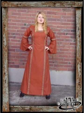 Dress Angie - Brick Red
