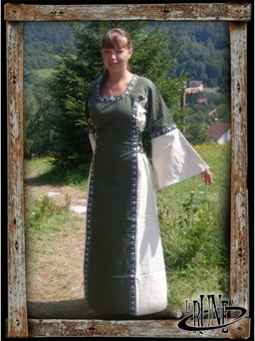 Dress Angie - Green/Nature