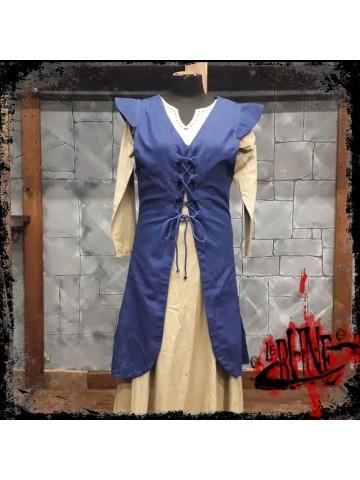Canvas dress Cornelia blue