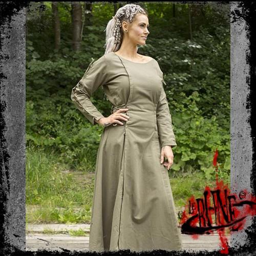 Priestess dress dryad green