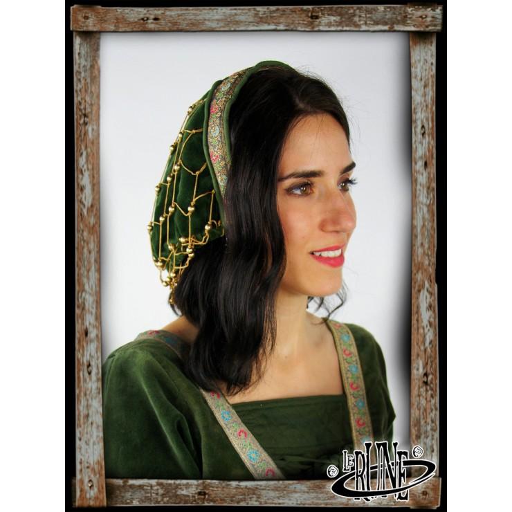 Noble velvet bonnet Elaine