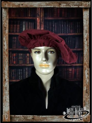 Canvas beret Leopold