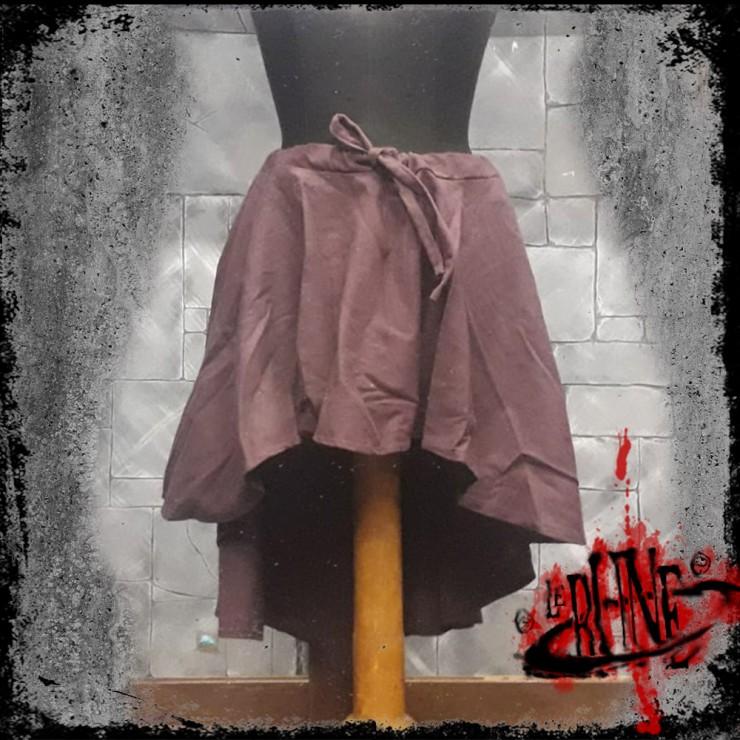 Canvas skirt Amelia brown