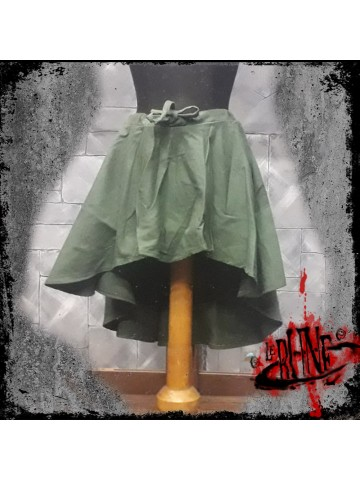 Canvas skirt Amelia green