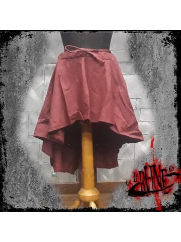 Canvas skirt Amelia wine red