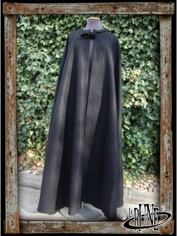 Wool cape Kuno without hood