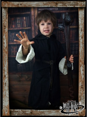 Canvas robe Draconius Black