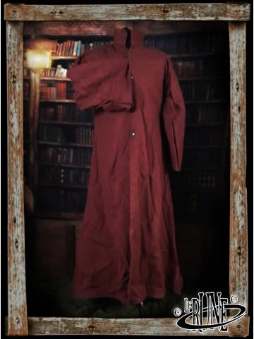 Canvas robe Merlin Wine Red