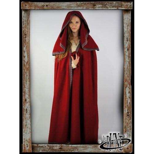 Wool cape Theresa