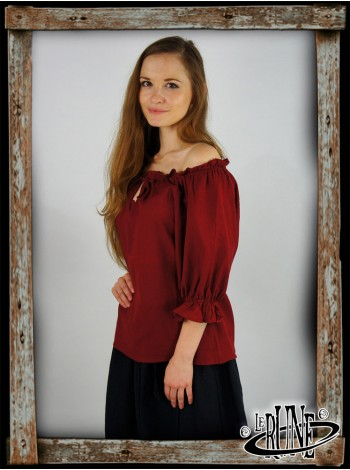 Female blouse Vera - Red