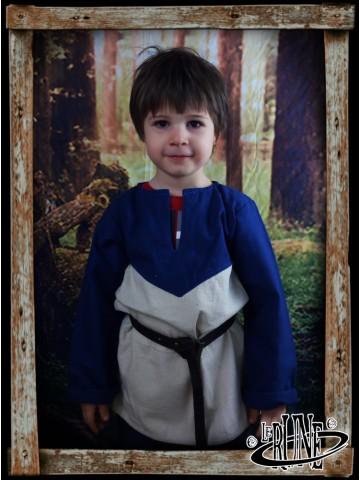 Canvas tunic Robin Blue/Nature