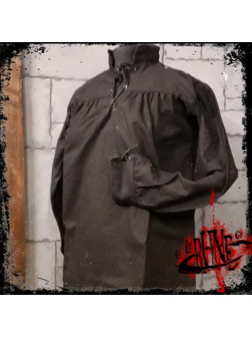Canvas shirt Parsifal Black