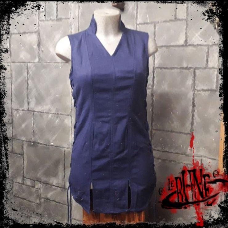 Canvas tunic Mialee blue