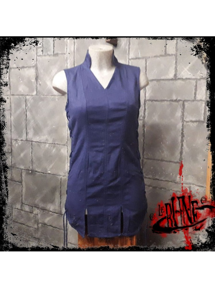 Canvas tunic Mialee blue