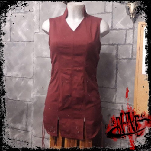 Canvas tunic Mialee wine red