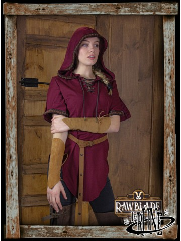 Briannan Ranger tunic wine red