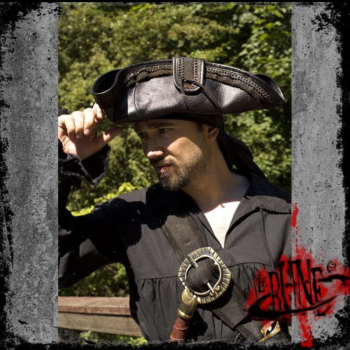 Pirate hat - Black