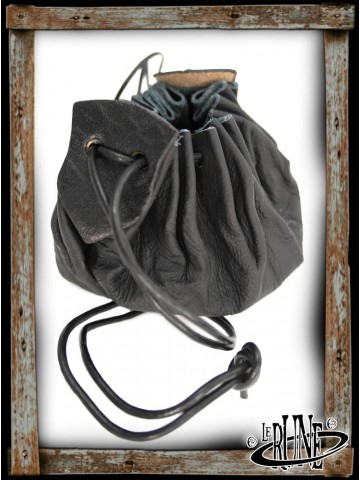 Coin purse Odo in leather