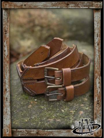 Twin belt Brown