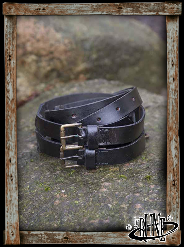 Twin belt Black