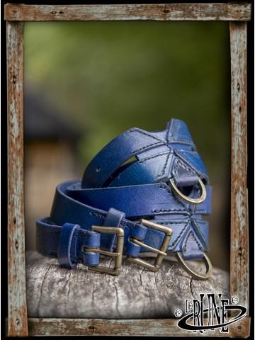 Twin belt Blue
