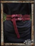 Twin belt Red
