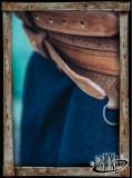 Viking belt Anike - Brown