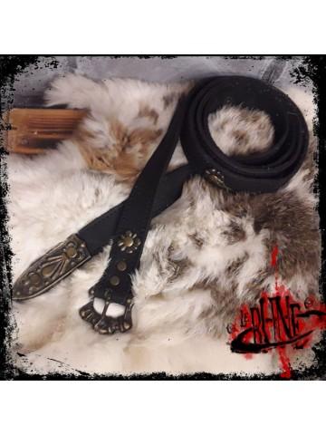 Ginevra leather belt