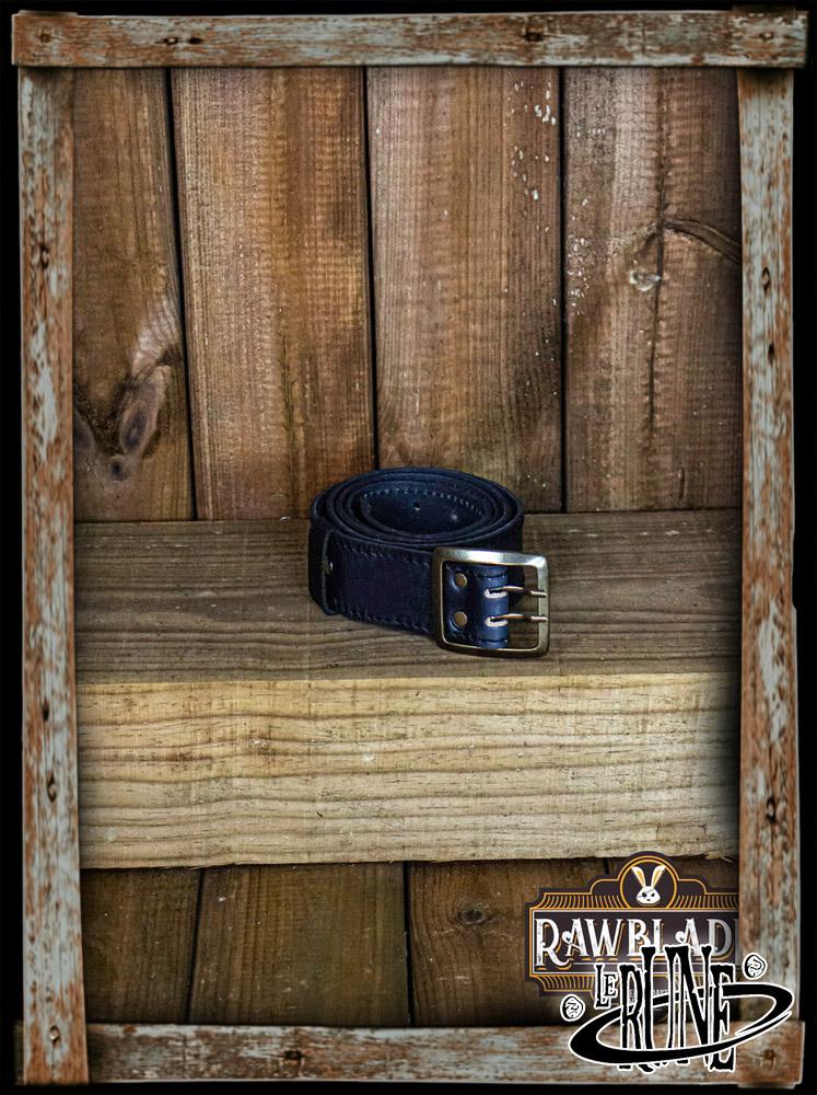 Adventurer leather belt - Black