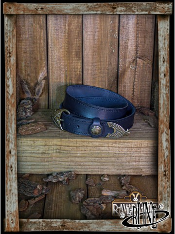 Viking belt Hrotgar - Black