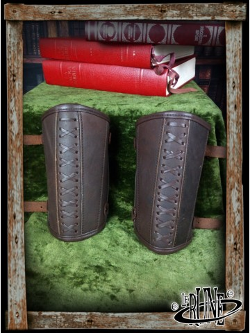 Leather bracers Enoel