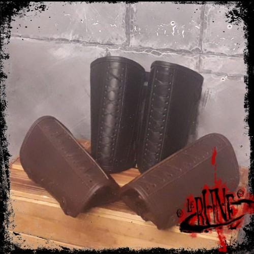 Leather bracers Enoel