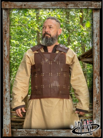 RFB Fighter leather armour - brown