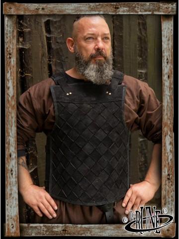 RFB Viking leather armour - black