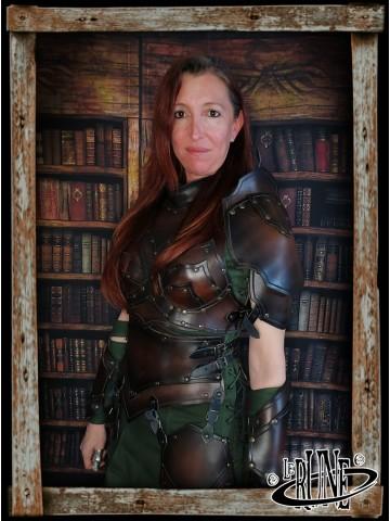 Leather breastplate Senua Klarel