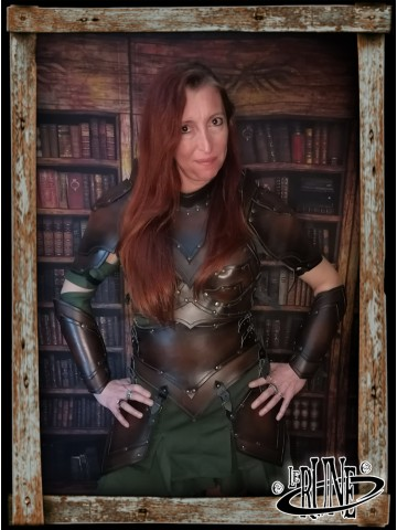 Leather bodice Senua Klarel