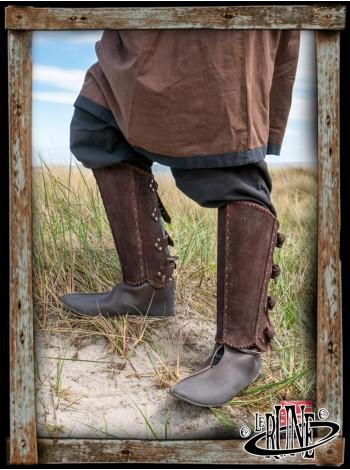 RFB Veteran greaves - brown