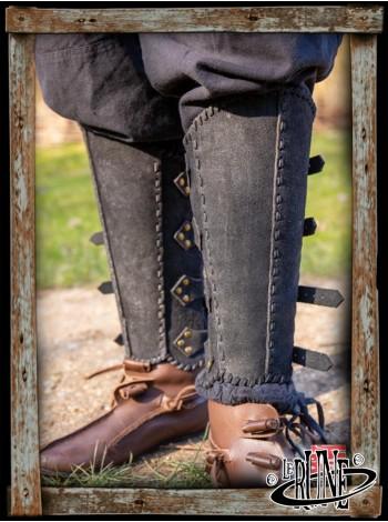 RFB Veteran greaves - black