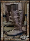 Duncan Boots - Brown Leather