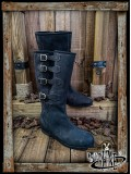 Duncan Boots - Black Leather
