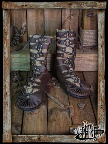 Elorika tall Sandals - Brown