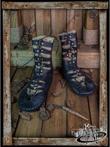 Elorika tall Sandals - Black