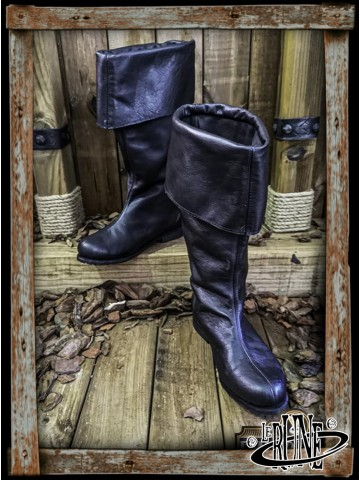 Neverman Adventurer Boots - Black Leather