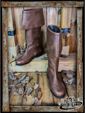 Neverman Adventurer Boots - Brown Leather