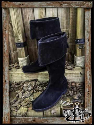 Neverman Adventurer Boots - Black Splitleather