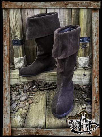 Neverman Adventurer Boots - Brown Splitleather